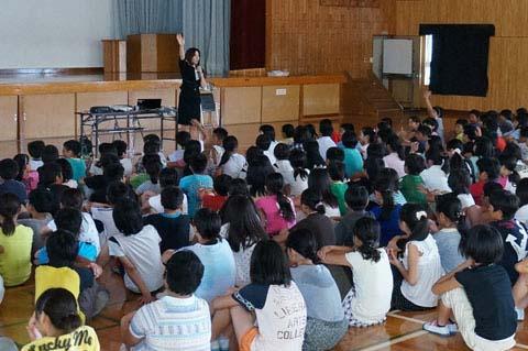 ケータイ安全教室 春日町小学校