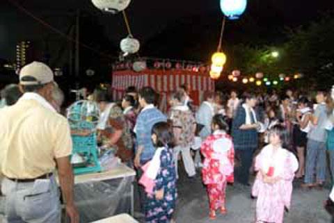 2010-08-19 王子四町 供養盆踊り